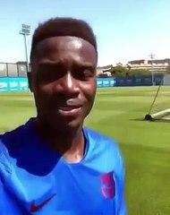 Barça : Moussa Wagué est officiellement promu dans équipe première