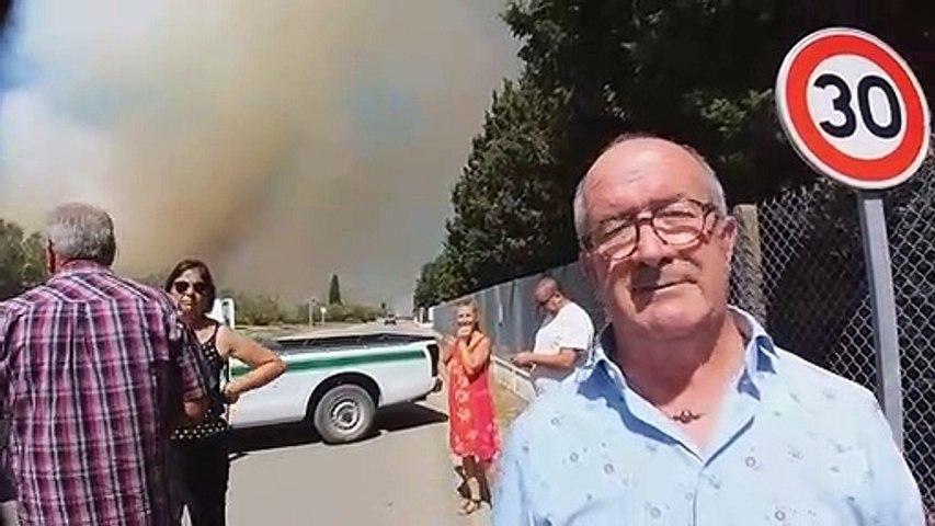 Nouveaux départs de feu, commune de Vauvert
