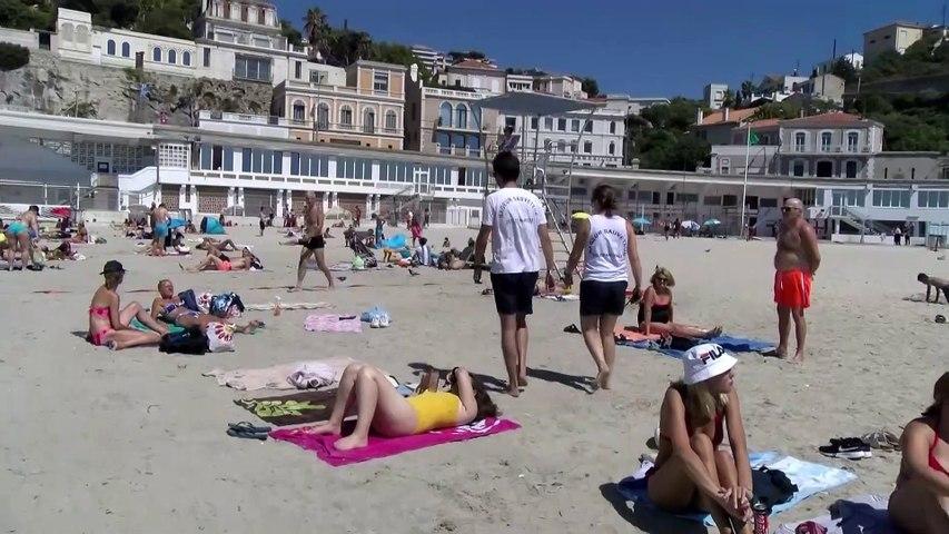 """Marseille. """"Surveillez vos enfants sur les plages"""". Noellie Maurel et Mickael Pretre"""