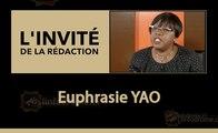 L'invité de la rédaction : Euphrasie Yao Conseillère spéciale du PR chargée  du Genre, Titulaire de la Chaire Unesco