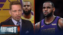 LeBron is the most scrutinized athlete in American sports - Broussard - NBA - FIRST THINGS FIRST