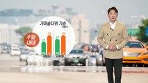 [날씨] 주말 내내 가마솥 더위 기승...내일 오후 한때 소나기 / YTN