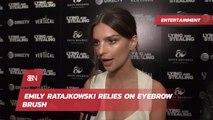 Emily Ratajkowski's Eyebrow Tools