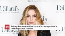 Ashley Benson Helps Launch A New Perfume Line