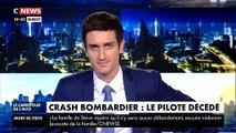 EN DIRECT - Un bombardier d'eau qui intervenait sur l'incendie de Générac (Gard) s'écrase - Le pilote est décédé - Les premières images