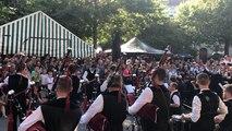 Le Bagad Sonerien an Oriant ouvre le festival Off