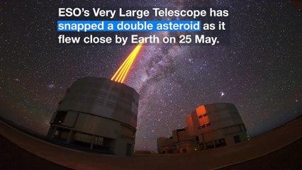 """Las imágenes del asteroide 1999 KW4 """"potencialmente peligroso"""" y la defensa planetaria"""