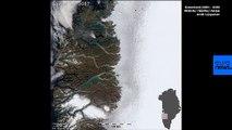 Fonte des glaces et incendies : cinq visuels pour résumer la canicule au Groenland