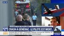 Un responsable de la DGSCGC fait part de sa tristesse après la mort d'un pilote de bombardier d'eau à Générac