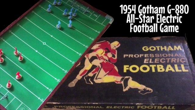 Flea Market Finds - 1954 Gotham Electric Football Game