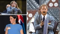 Prince Harry Drinks Potent Local Beverage While Duchess Meghan Sips Local Water / The Fiji Islands