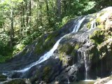 Autour de la cascade du Puissieux 660m -Lescheraines 73340 Parc des Bauges
