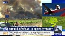 """Crash d'un bombardier d'eau: pour le maire de Générac, """"on a perdu un homme courageux, c'est ça le plus dramatique"""""""