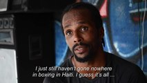 Haitian self-taught heavyweight boxer struggles to get a break