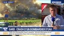 Gard: crash d'un bombardier d'eau