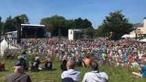 La foule pour ce premier jour du festival du Chant de marin