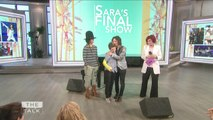 The Talk - Linda Perry and Sara Gilbert's Daughter Sawyer Perform Surprise Farewell Song on 'The Talk'