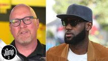 The LeBron James media reaction proves a point I was trying to make - David Griffin - The Jump
