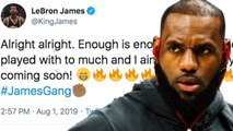 Lebron James REACTS To Ex Cavs GM Claiming He Made Team Miserable- THREATENS The ENTIRE NBA-
