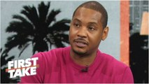 Carmelo Anthony would be 'at peace' if NBA career is over - First Take