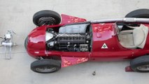 Alfa Romeo GP Tipo 159 Alfetta at F1 British GP - Alfetta Departure from Museo Storico Alfa Romeo in Arese