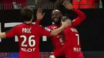25/02/17 : Giovanni Sio (19') : Rennes - Lorient (1-0)