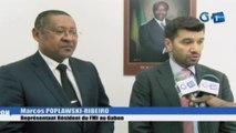 RTG/Echange entre le Ministre des PME-PMI et le représentant du FMI au Gabon