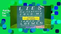 Full E-book  Lies My Teacher Told Me For Young Readers: Everything American History Textbooks Get