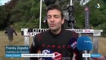 Franky Zapata : traversée de la Manche réussie sur son Flyboard