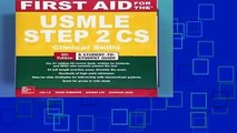 First Aid for the USMLE Step 2 CS, Sixth Edition  Best Sellers Rank : #2