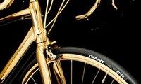دراجة هوائية أغلى من سيارة فيراري... مصنوعة من الذهب!