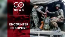 Encounter In J&K's Sopore