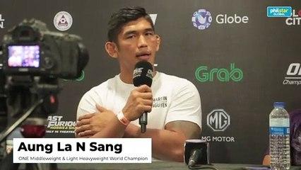 Aung La Nsang on facing Brandon Vera
