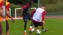 Nicolas Pépé humilie déjà ses nouveaux camarades à l'entraînement d'Arsenal