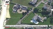 Robert F. Kennedy's granddaughter dead