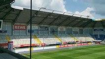 Pre-partita di Paderborn-Lazio