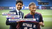 Transferts - Il y a 2 ans, Neymar signait au PSG
