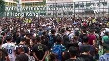 Hong Kong protesters defy warnings with weekend rallies