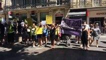 Avignon : les gilets jaunes marchent en mémoire de Steve