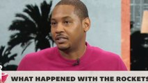 """Carmelo Anthony REVEALS What Happened In Houston, Says He """"1000%"""" Wants To Play With Lebron"""