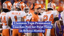 Clemson Has A Solid Coaching Staff