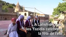 Cinq ans après l'EI, les Yazidis fêtent l'été mais n'oublient pas les tueries