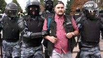 Demo für freie Wahlen: Hunderte Festnahmen in Moskau