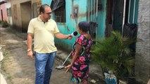 Moradores do Bairro Gildo Andrade em Itambé reclamam da falta de água, saneamento e alvará