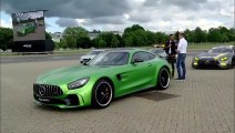 2017 Mercedes AMG GT R Tested by Lewis Hamilton