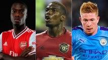 As contratações mais caras da história da Premier League