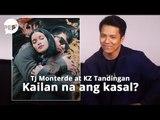 TJ Monterde, nakagawa ng kanta dahil sa wedding questions sa kanila ni KZ Tandingan