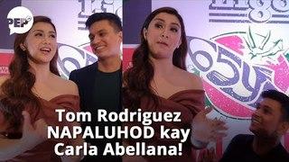 Watch: Tom Rodriguez, NAPALUHOD kay Carla Abellana dahil sa tanong na ito