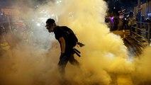 Violentos disturbios en las protestas de Hong Kong