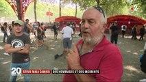 Nantes : des hommages à Steve et des incidents